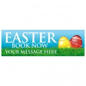 Pre Printed Easter Banner