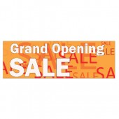Pre Printed Grand Opening Banner