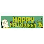 Pre Printed Halloween Banner