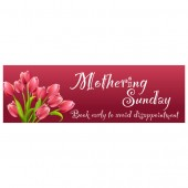 Pre Printed Mothers Day Banner